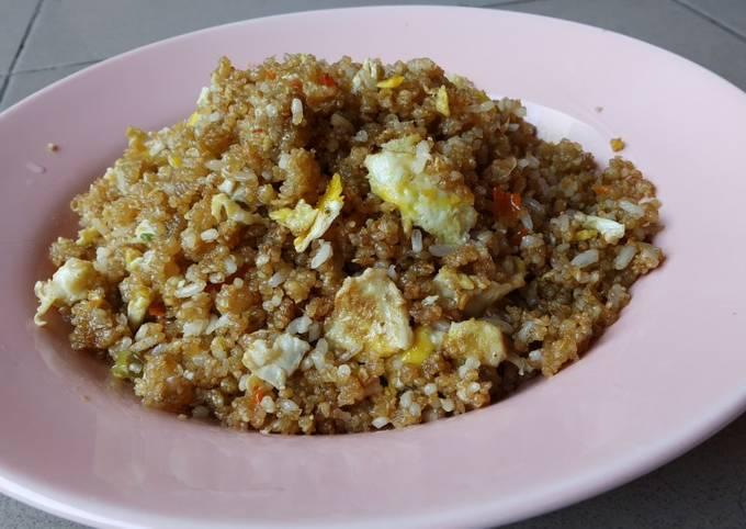 Nasi goreng tiwul Wonogiri