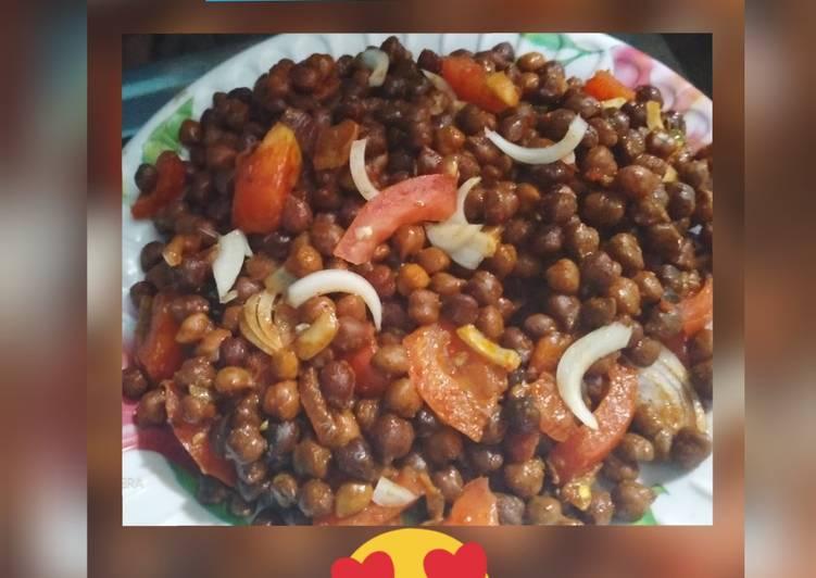 Recipe of Favorite Masala Chana chat recipe