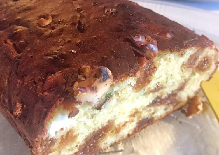Cake figues fêta et noix