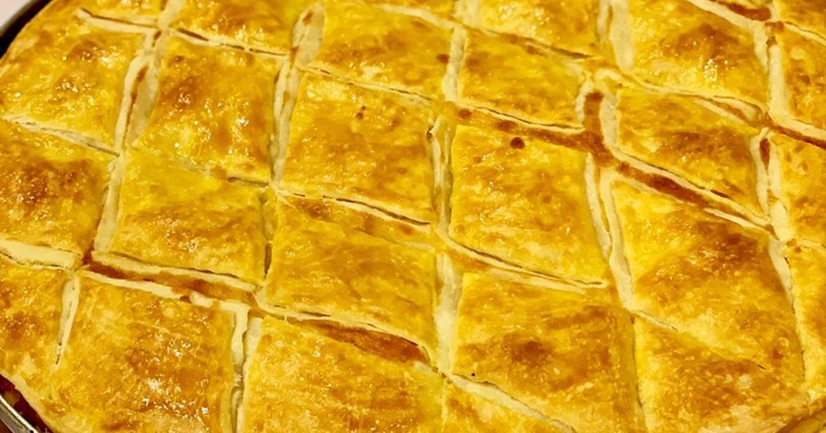слоеный сырный пирог рецепт с фото этого могут