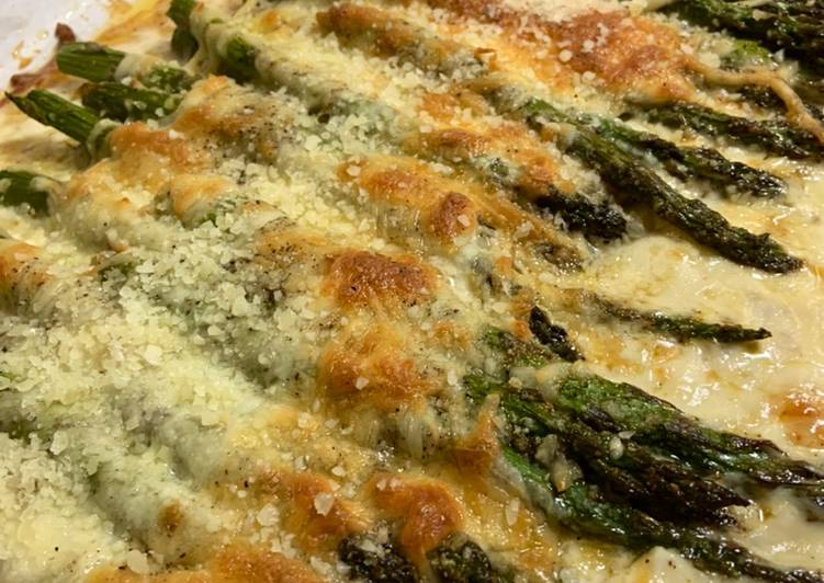 Creamed Asparagus: Keto Friendly