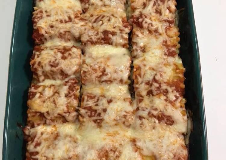 Recipe of Speedy Stuffed Lasagna Rolls
