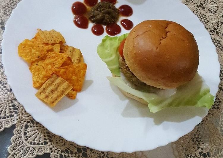 Oats burger