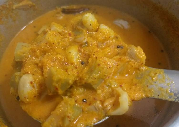 How to Make Tasty Tender jackfruit sambar