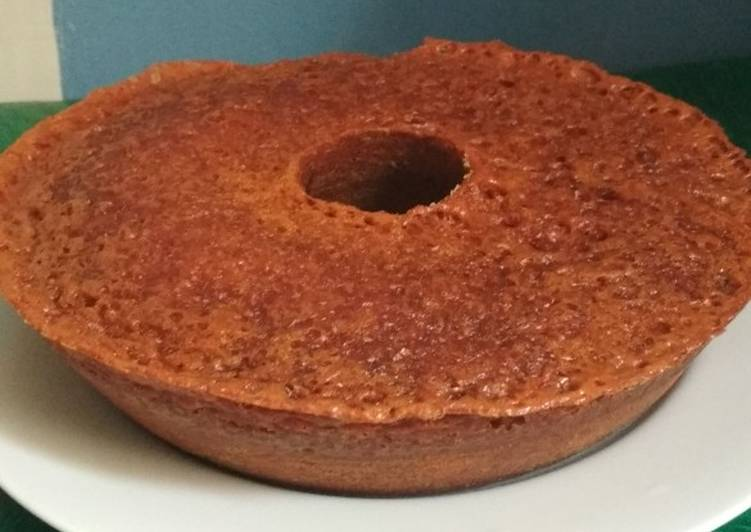 resep memasak Bolu Caramel (Sarang Semut) Teflon serbaguna - Sajian Dapur Bunda
