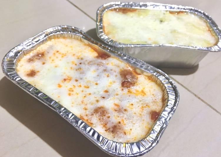 Resep Lasagna Kulit Pangsit Oleh Aulia Rahmayanti Cookpad