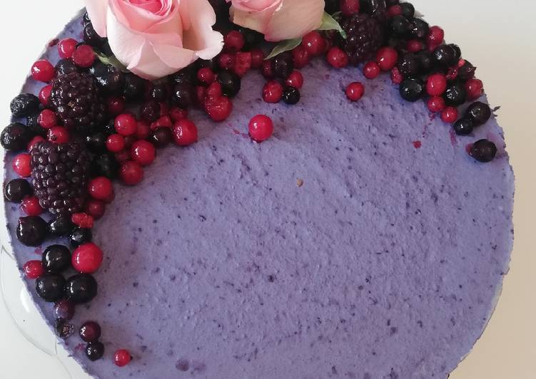 How to Prepare Perfect Blueberry cake (Vegan)