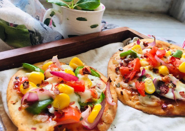 Steps to Prepare Perfect No yeast pizza