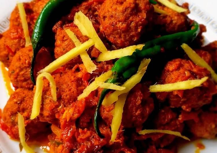 Kofta (Meat balls) Recipe