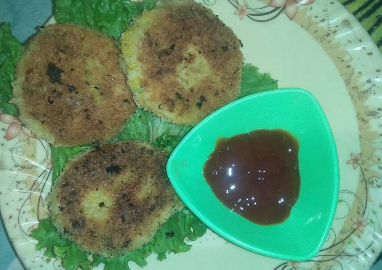 Aloo ky cutlet - Laurie G Edwards