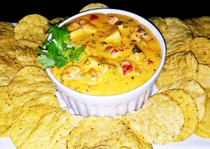 Mike's Southwestern Grilled Chicken Queso Dip