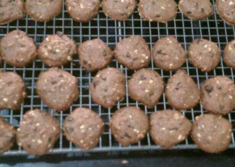 Chocolate Chocochips Cookies