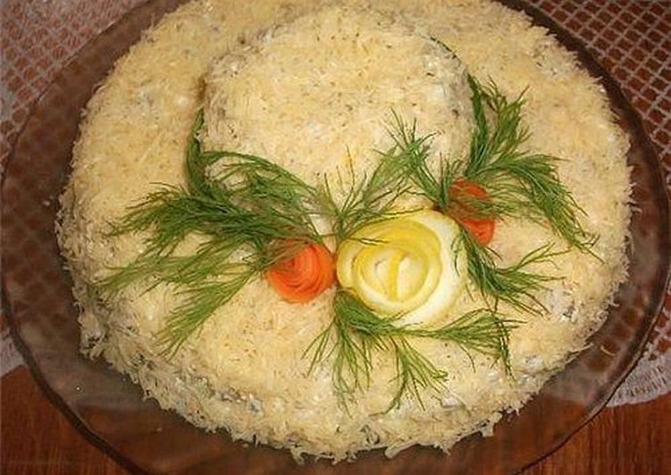рецепт салата шляпа с фото что эта