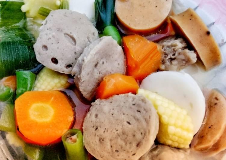 Resep Sup Kaldu Sapi Cemplang Cemplung Oleh Sulist12 Masakan Cookpad