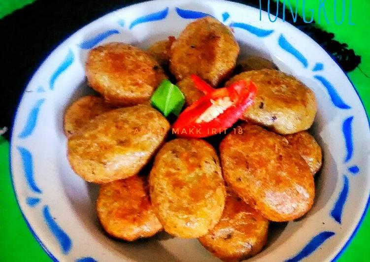 🍁Perkedel kentang + ikan tongkol