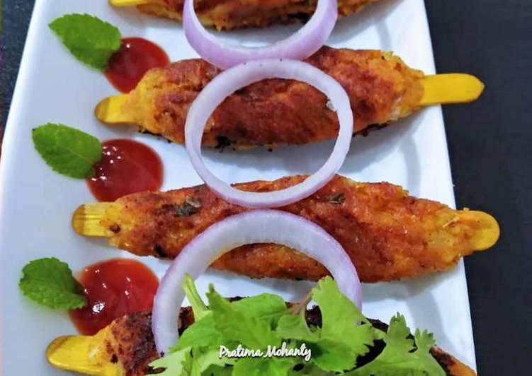 How to Cook Perfect Potato Seekh Kebab