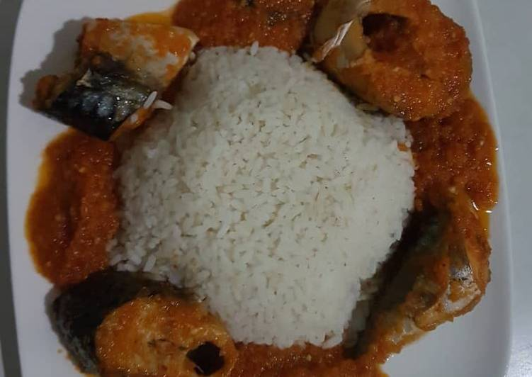 Titus Fish Stew And Rice Recipe By Alpha Delta Cookpad