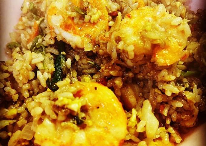 Prawn and Veggie Fried Rice