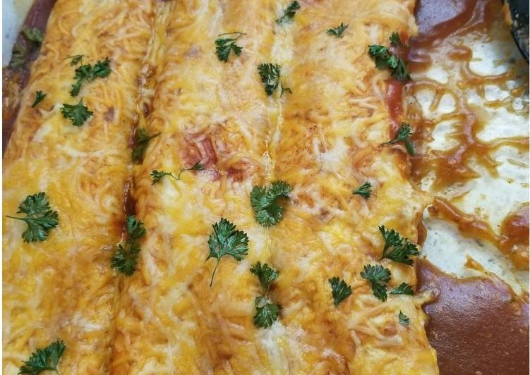 Learn How to Boost Your Mood with Food Chicken Sour cream Enchiladas