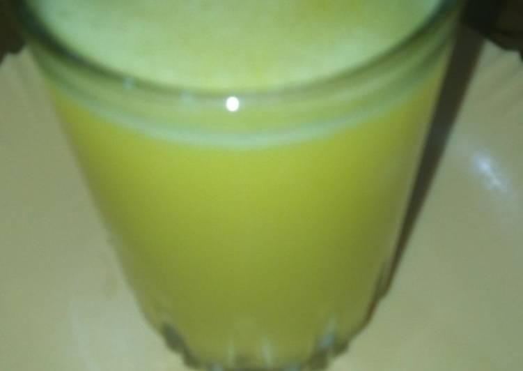 Easiest Way to Prepare Favorite Fresh pineapple juice #festiveseasoncontest kakamega #author mar
