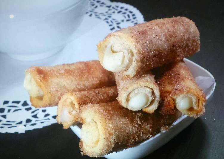 Bread cream roll