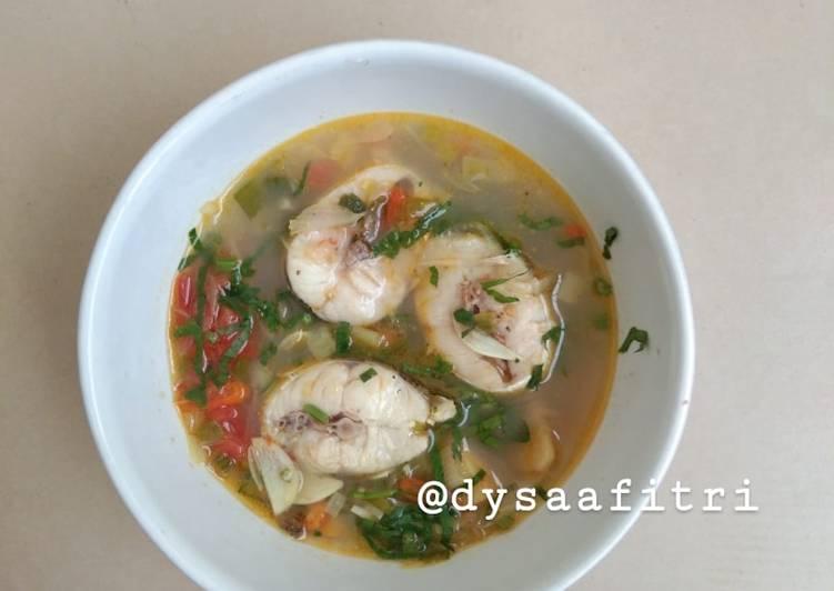 Sup Ikan Barakuda