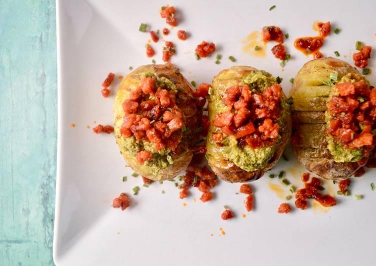 Recipe of Quick Mini Hasselback Potatoes