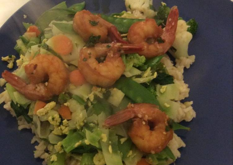 Stir fry with shrimp, Coconut Oil Is A Fantastic Product And Can In Addition Be Beneficial For Your Health