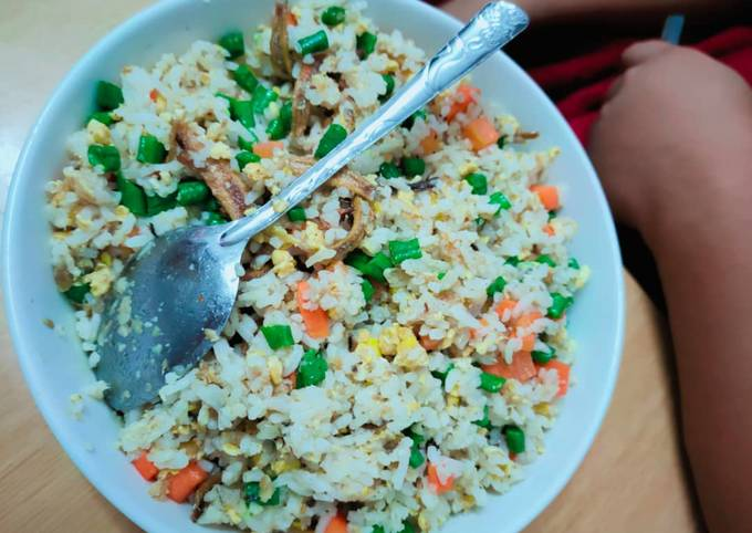 Nasi goreng simple