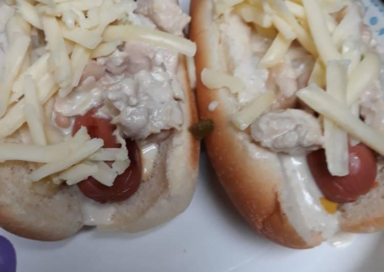 10 Minute Dinner Ideas Super Quick Homemade White Chilidogs