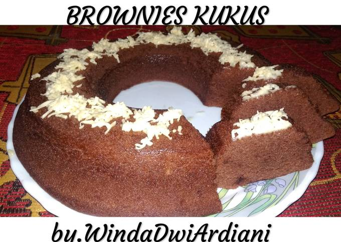 Brownies kukus. Takaran sendok💖