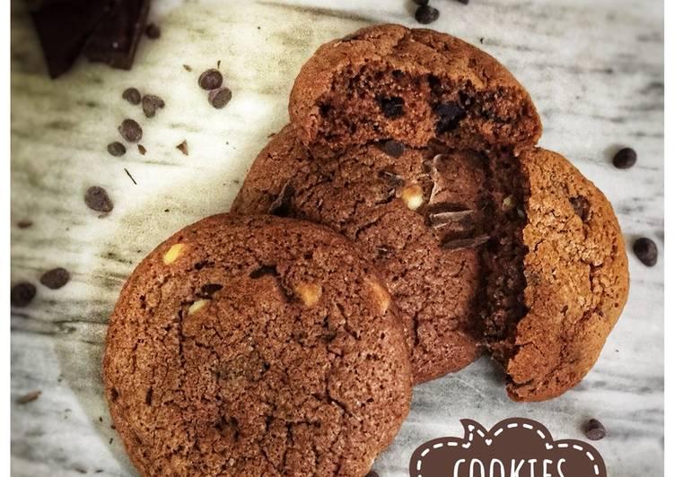 Comment faire Faire Délicieuse Des cookies 🍪 aux pépites de chocolat 🍫