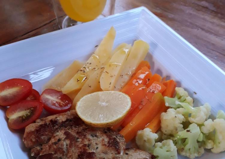 Fish Steak Minimalis