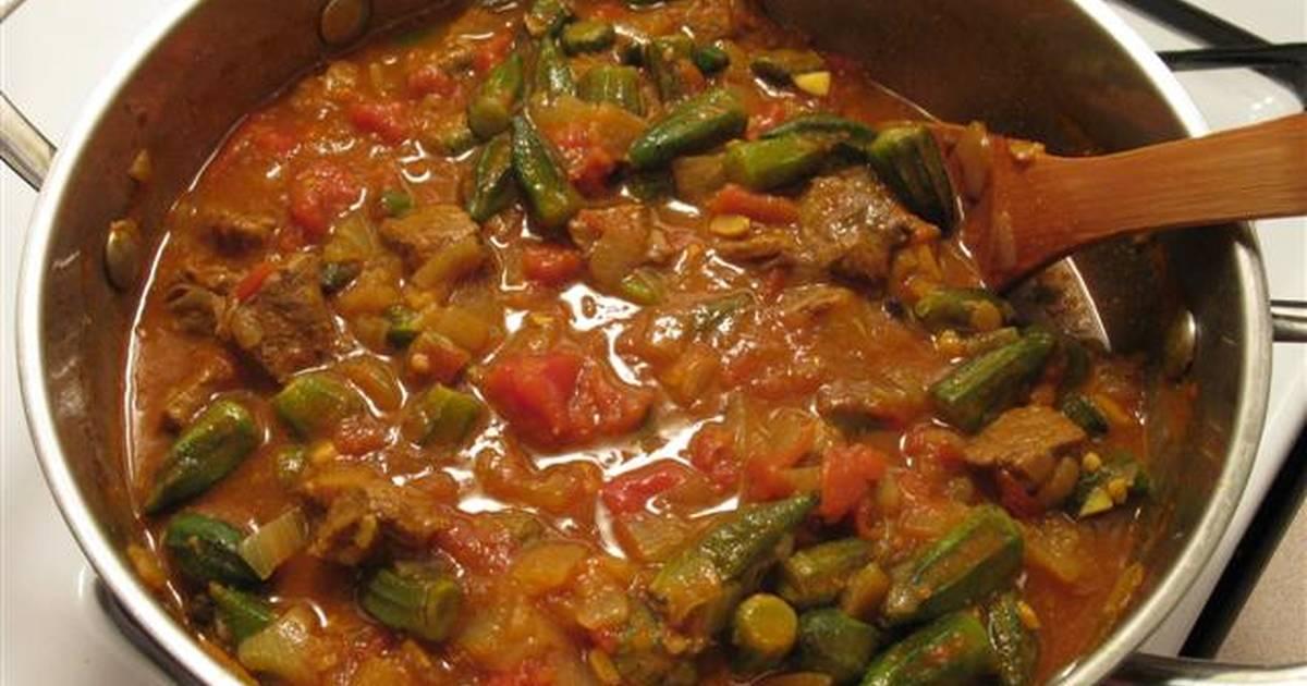 طريقة عمل طريقة عمل بامية مصرية باللحم 25 وصفة طريقة عمل بامية مصرية باللحم سهلة وسريعة كوكباد