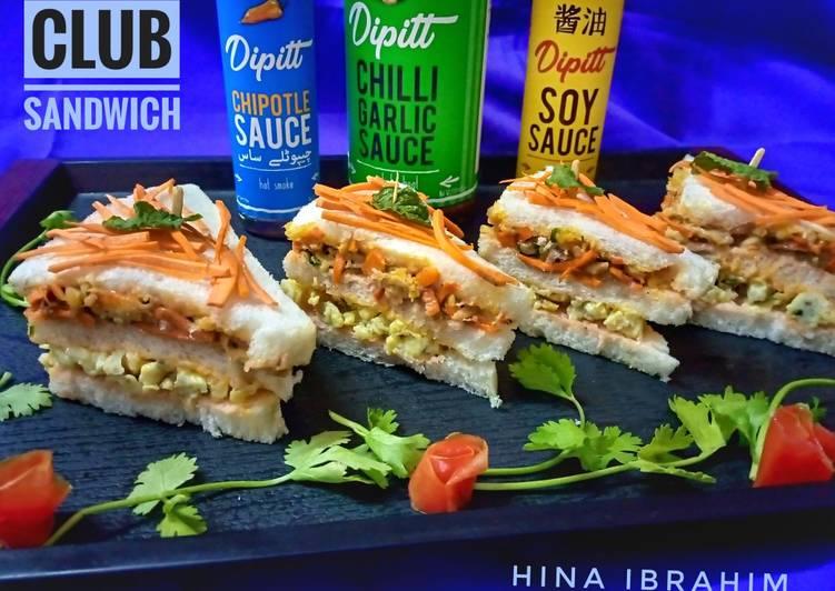 Easiest Way to Prepare Tasty Club Sandwich