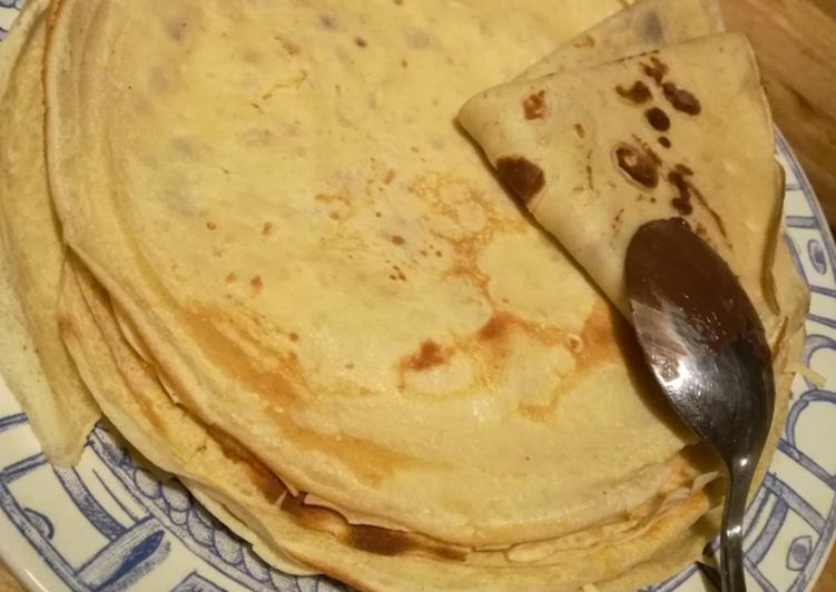 Le moyen le plus simple de Cuire Parfait Crêpes sans sucre ni beurre