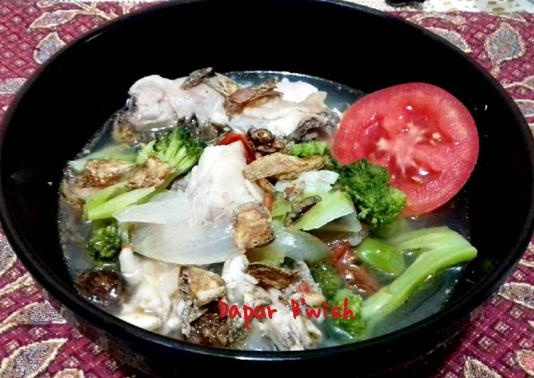 Sup Brokoli Ayam