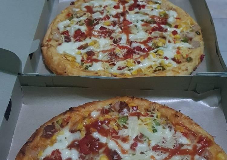 Resep pizza kang Roti Smb