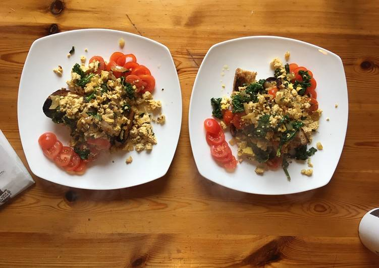 How to Prepare Perfect Scrambled tofu (vegan 🌱)