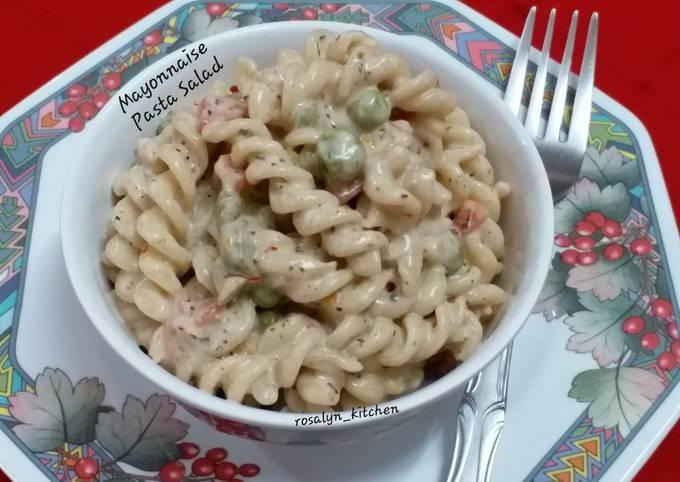 Mayonnaise Pasta Salad