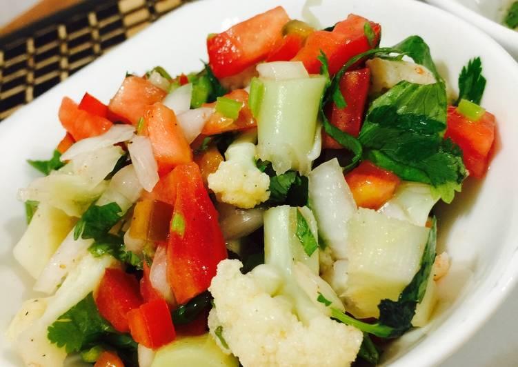 Ceviche de coliflor