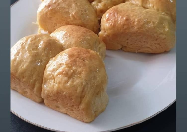 Roti lembut ala ogato