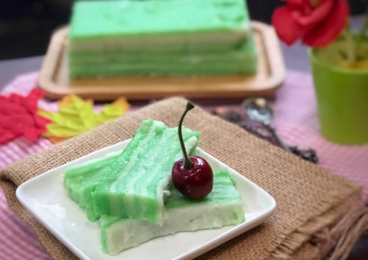 Kueh Lapis (Tepung Beras) ala Tiger Kitchen - cookandrecipe.com