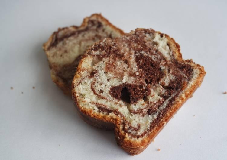 Recette Parfait Gâteau marbré au chocolat