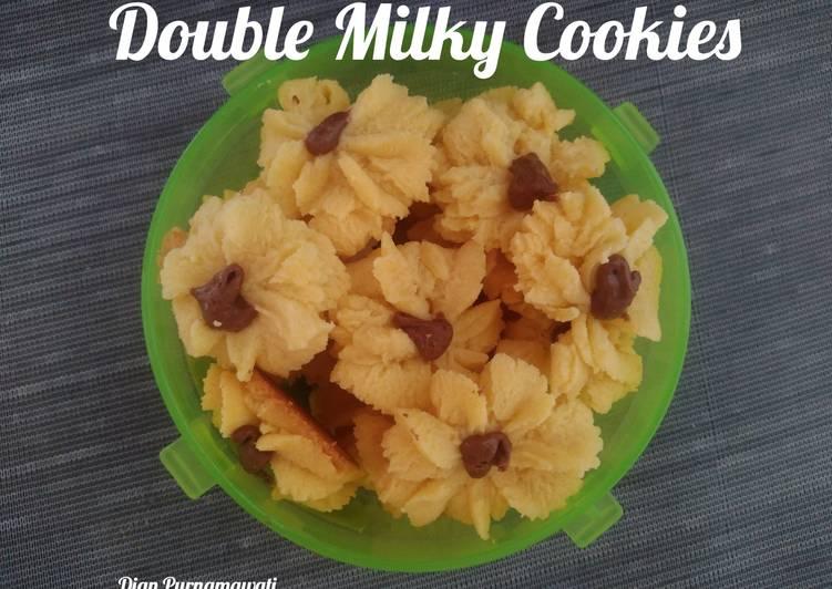 Double Milky Cookies