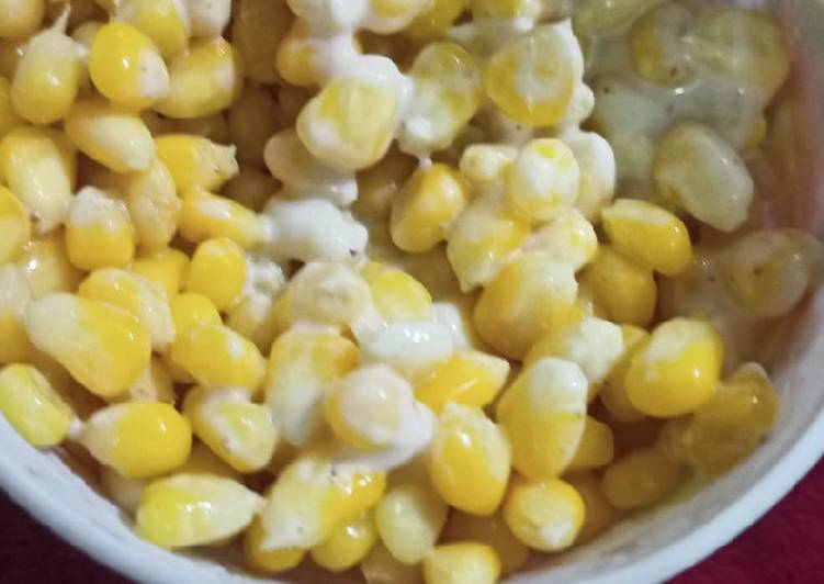 Mayo sweet corn