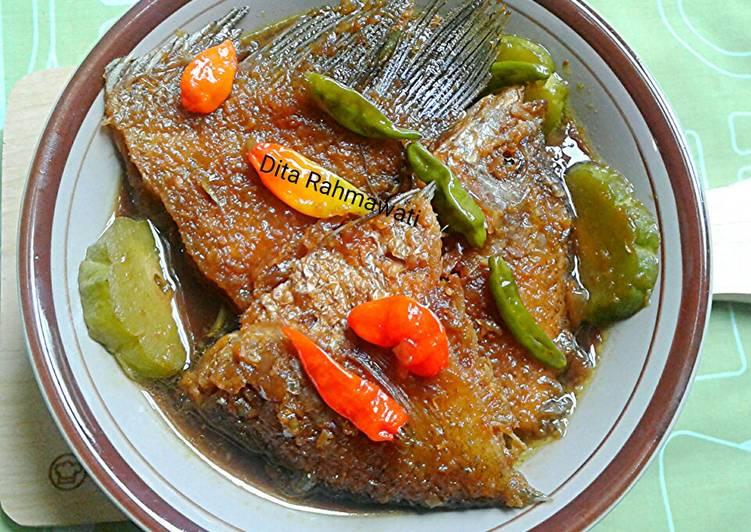 Resep Semur Ikan Nila, Enak