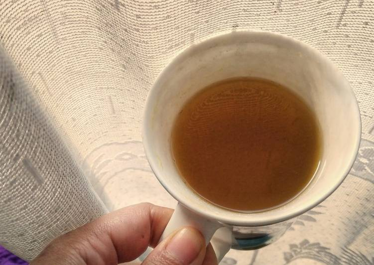How to Make Any-night-of-the-week Ginger Turmeric and Lemongrass Tea