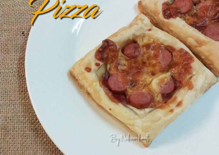 Resepi:  Pizza Pastry #minggu18  Lazat