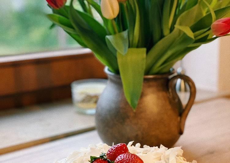 Steps to Prepare Quick Gluten-free carrot cake🧡